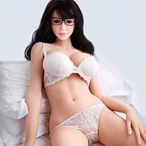 Sex Erwachsene Frau Rollenspiel Doll Sexpuppe Lebensechte Liebespuppe Love Doll Männlich Toy Silikon Spielzeug für Männer Mund, Vagina und Anus Sex Arsch mit großen Brüsten (Doll Blow Silikon Up)