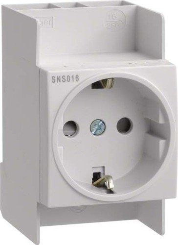 Hager SNS016 Steckdose 16A 250V 2,5PLE QuickConnect -