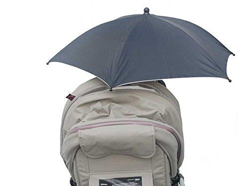 Maxtto Big Clamp Sun Parasol Universal Stroller (Black)