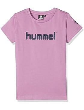 Hummel T-Shirt Mädchen - JUNIOR V VENI SS TEE AW17 - Trainingsshirt kurze Ärmel - Fitnessshirt Freizeit & Sport...