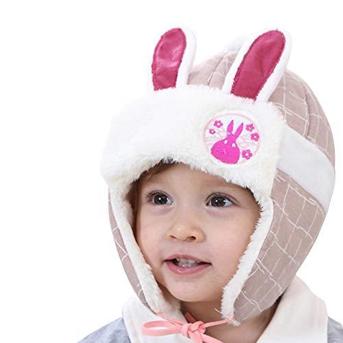 Amazon Mounter-Bonnet. Bonnet Bébé, 2PC Cheveux Chapeau Casque Enfant  Imprimer Bonnet écharpe Laine Ensemble ... 82b3f28ee03