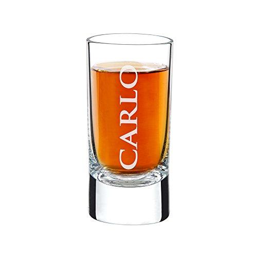 AMAVEL - Bicchierino da Liquore con Incisione - Personalizzato con [NOME] - Bicchiere da Shot - Idea Regalo Originale per...