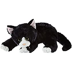 Ty 10037 - Gato de peluche en color negro Shadow [importado de Alemania]