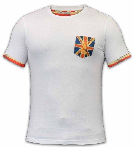 Brave SoulHerren T-Shirt Weiß - Weiß