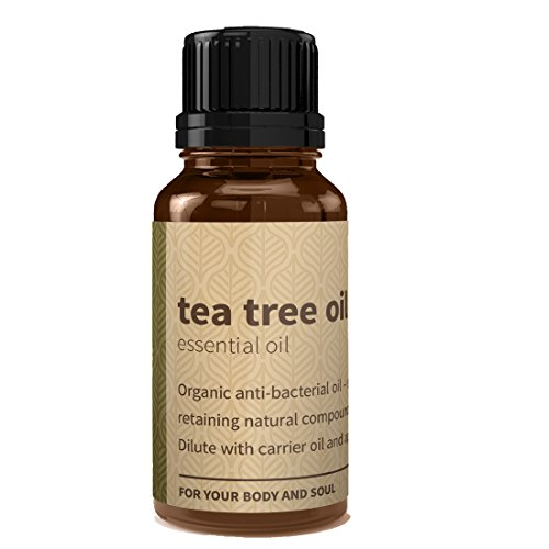 Pure Tea Tree Oil by Rouh Essentials | For Acne, Skin, Face and Hair (15 ML)