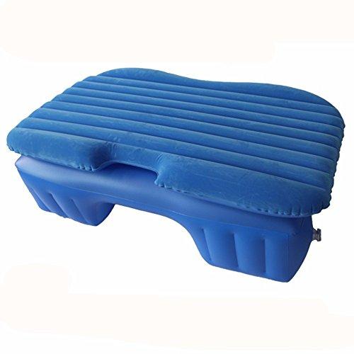 Auto aufblasbare Matratze / Auto zurück Sitz Luft Kissen Bett / Reise Bett / Kraftfahrzeug Schock Bett / erwachsene Schlafmatte, Blue Flocking 2 (Sport-auto Aufblasbare)