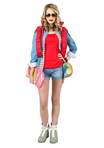(Women's Marty McFly Fancy dress costume Medium)