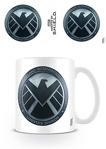 Agents Of S.H.I.E.L.D. - Logo Tazza Da Caffè Mug (9 x 8cm)