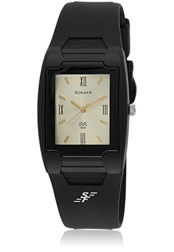 Sonata Analog Champagne Dial Men's Watch – NF7920PP12J