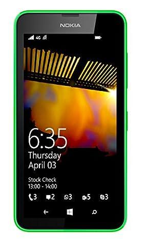 Nokia Lumia 635 UK SIM-Free Windows Smartphone - Green (4.5-inch, 8GB, 4G)
