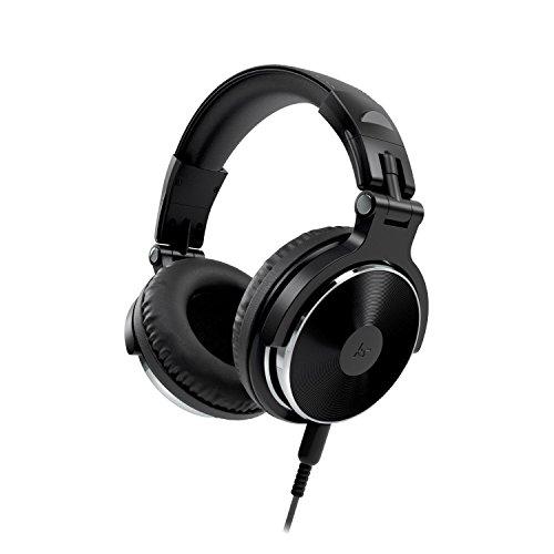 Kitsound DJ Kopfhörer Kompatibel mit Smartphones, Tablets und MP3 Geräten einschl. iPhone 4/4S/5/5S/5C/SE/6/6 Plus/6S/6S Plus, iPad 2/3/4/Air/Mini/Pro, iPod Nano 7, iPod Touch 5, Samsung Galaxy S3/S4/S5/S6/S6 Edge/S6 Edge+/S7/S7 Edge, Galaxy Note 2/3, Galaxy Tab 2/3/4, Xperia Z1/Z2, HTC One/One M8 und Google Nexus 5/7/10 - Schwarz Mp3-geräte