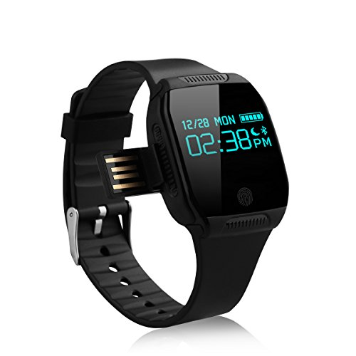 smartwatch nuovo orologio impermeabile e07s Smartwatch per iPhone telefono Android Smart Wristband Pedometro Lettore MP3bracciale orologio PK mi Band 2