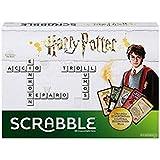 Scrabble Édition Harry Potter, jeu de société et de lettres, version anglaise, DPR77