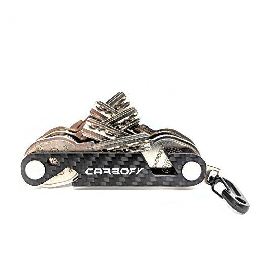 CARBOFY® Key Organizer Multi-Tool aus echtem Carbon Faser -
