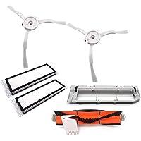 Soul Item Lavado Filtros de Repuesto Limpiador Filtro Kit Accesorios para Xiaomi Mi Robot Robot Aspirador