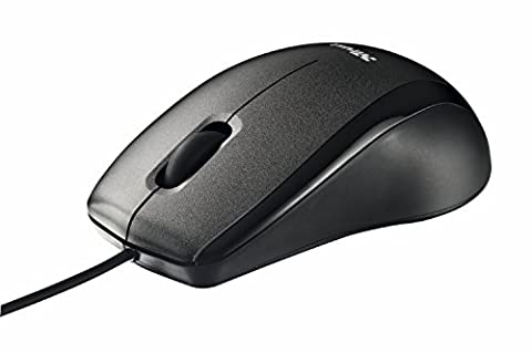 Trust Carve Optical USB Mouse for PC, Laptop - Black