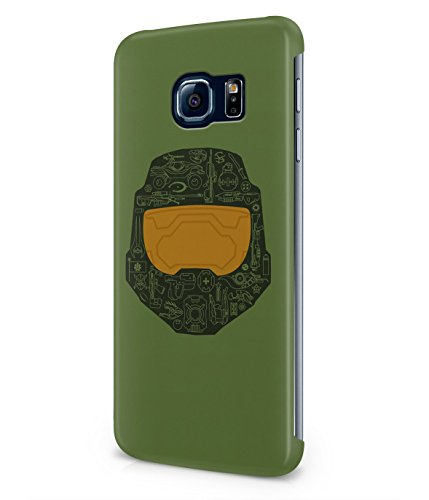 Master Chief Halo Plastic Snap-On Case Cover Shell For Samsung Galaxy S6 EDGE