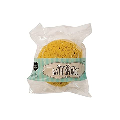 4 x Large Luxury Bath Sponge Extra Soft Bathroom Clean Shower Bubbles Body Wash.