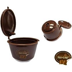 Capsulas Reutilizables compatibles con cafetera Dolce Gusto (Pack 3 uds)