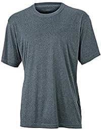 JAMES & NICHOLSON - t-shirt manches courtes respirant - technique - séchage rapide - polyester - JN358 - homme