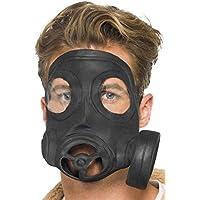 Smiffys Máscara de gas, negra, ...