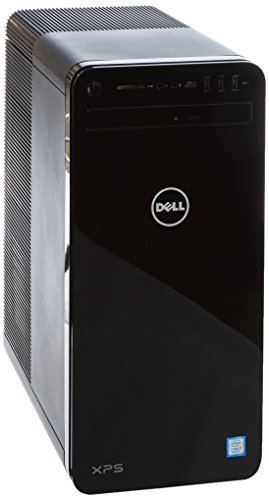 Dell XPS 8930  Desktop (Intel Core i7-8700 6-Core , 2TB HDD + 256GB 4xSSD, NVIDIA GeForce GTX 1070 with 8GB GDDR5 Graphics Memory, DVD RW, Win 10 Home 64bit German) schwarz