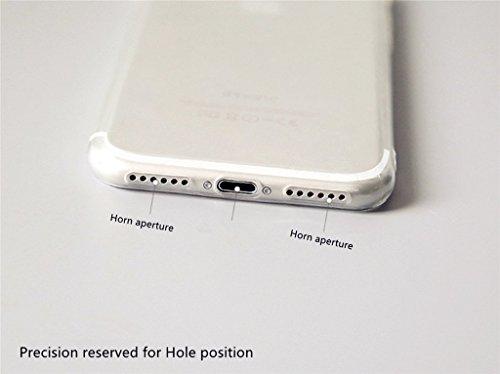 Coque pour iPhone SE/5/5S MUTOUREN haute qualité Soft TPU gel phone case Anti-choc Housse Etui 360 degrés Protection Anti Rayure phone Case Nouveau style- Rouge noir fruit07