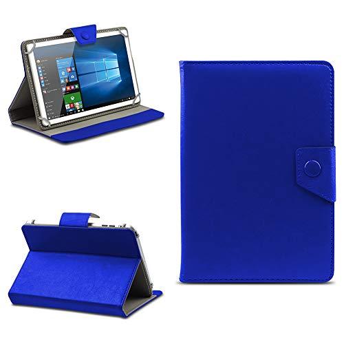 na-commerce Telekom Puls Tablet Hülle Tasche Schutzhülle Case Schutz Cover Stand 8 Zoll Etui, Farben:Blau