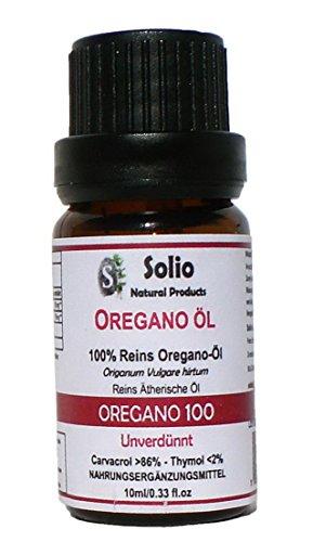 Oregano 100. Reines 100% griechisches ätherisches Oregano Öl Mindestens 80% Carvacrol 10 ml-0.33oz