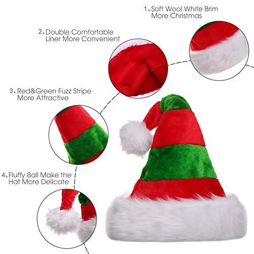 ... di Natale Decorazione Berretto Rosso Grande Formato. Visualizza le  immagini 50ac865b9b5a