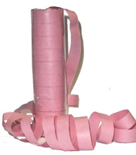 op Luftschlangen, Papier, unifarben-rosa ()