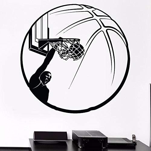 YuanMinglu Basketball wandaufkleber Basketball Kreis Sport Fans