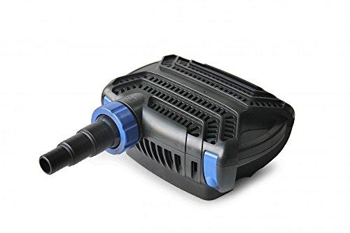 CTF-B 12000 Teichpumpe 100 Watt Eco Motor 12000 l/h 2in1 System Skimmer Förderpumpe Pumpe Energiesparpumpe