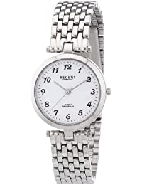 Regent Damen-Armbanduhr XS Analog Quarz Edelstahl 12220941