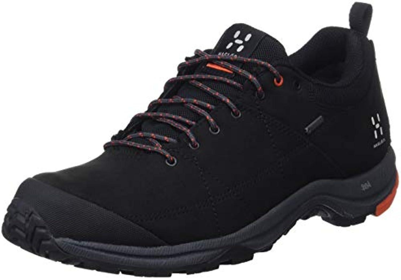 Haglöfs Mistral GT, Stivali da Escursionismo Donna, Nero (True nero Dynamite 2fa), 38 2 3 EU | Prestazione eccellente  | Scolaro/Signora Scarpa