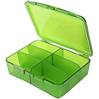 Pill Box Portable große Kapazität Medizin Box Medizin Dispenser Box preisvergleich bei billige-tabletten.eu