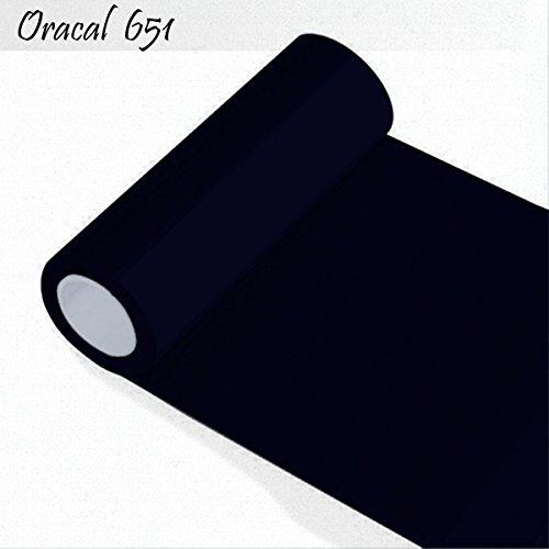 Oracal 651 Orafol glänzend - für Küchenschränke und Dekoration / Autobeschriftung / Schutzfolie Folie 10m - Breite 100 cm - Farbe 70 - schwarz - glänzend, für Küchenschränke und Dekoration, Autobeschriftung, Wandschutzfolie, Möbel, Aufkleber