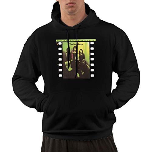 SKQIT Lustiges Sweatshirt Men\'s The Yes Album Fashion Graphic Einbauküche Kapuzenshirt