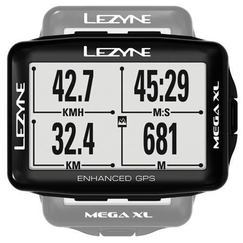 Lezyne GPS Mega XL Mixte Adulte, Black