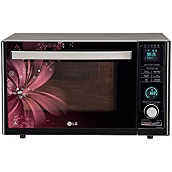 Lg 32 L Convection Microwave Oven Mj3286brus Black