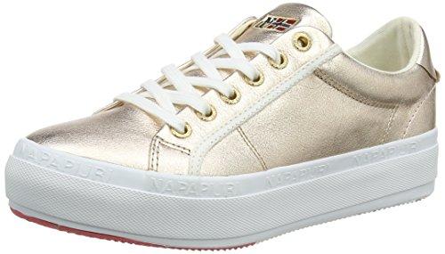 Napapijri Footwear Damen Astrid Sneaker, Pink (Rose Gold), 39 EU