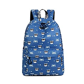XHHWZB Mall Unisex School Backpack Canvas Rucksack Laptop Book Bag Satchel Hiking Bag (color : C)