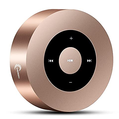 CHEREEKI Bluetooth Lautsprecher Wireless Tragbarer Lautsprecher Mini Drahtloser Lautsprecher MusikBox