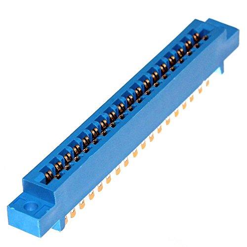 Preisvergleich Produktbild 1 Kartenrandsteckverbinder Platinenstecker Steckerleiste Lötleiste Leiste Edge Connector Pin Crimp PCB Board Steckleiste Neu Joy-Button (2x 18-polig)