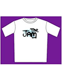 "The Jam ""Spray Logo"" White T-Shirt"