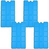 NEMT 4x Acumulador 750ML frío para la Nevera Funda o Nevera batería