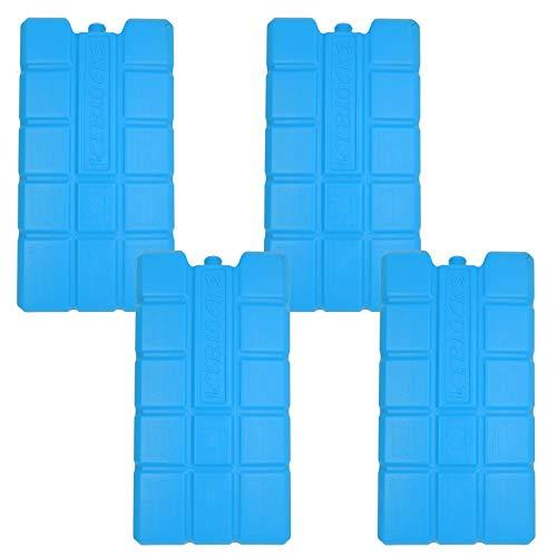 NEMT 4 x Kühlakku 750 ml Kühlelemente für die Kühltasche oder Kühlbox Kühlakku