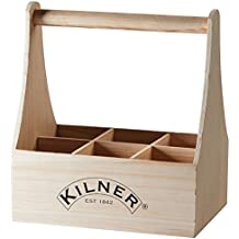 kilner botella caja de madera para botella de vino portador ideal para llevar cerveza limonada