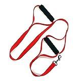 ROKOO Haustier-Produkt-Hundeleine 2 Gepolsterte PVC-Schaum-Handgriff-Haustier-Trainings-gehende Leinen für Mittlere große Hunde