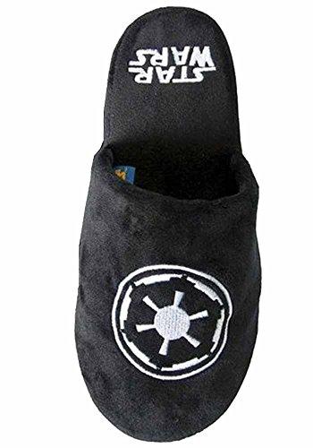 Officiel Star Wars Galactic Empire Noir Adulte Mule Slip On Chaussons -2 Tailles Disponibles (EU 38-41)